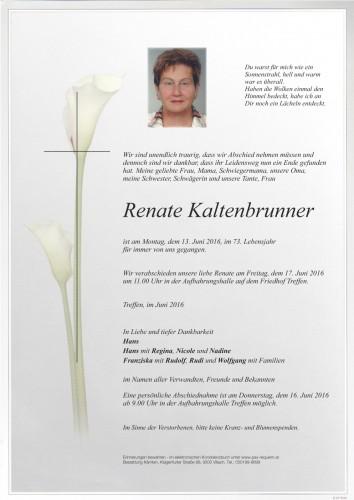 Renate Kaltenbrunner