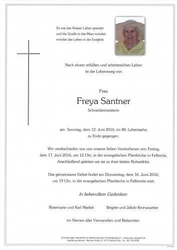 Freya Santner