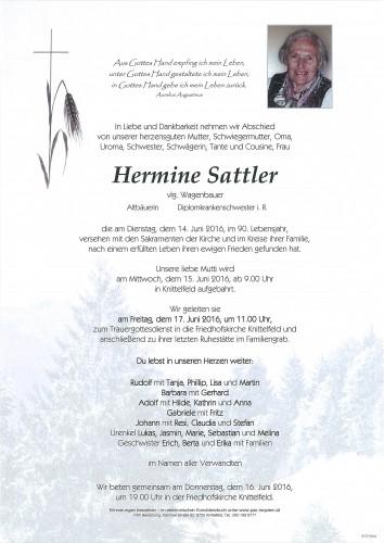 Hermine Sattler
