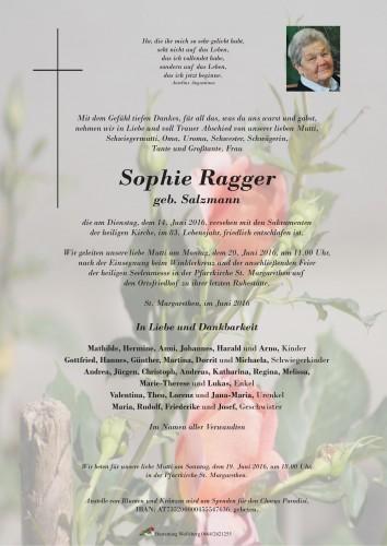 Sophie Ragger