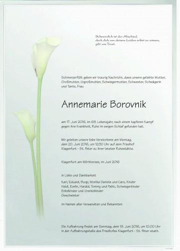 Annemarie Borovnik