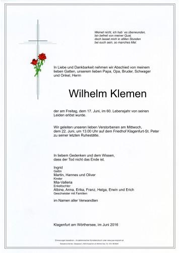 Wilhelm Klemen