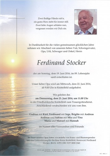 Ferdinand Stocker