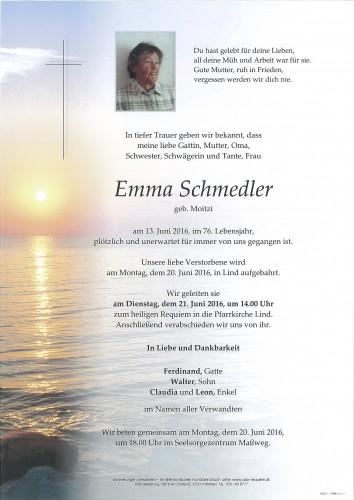 Emma Schmedler