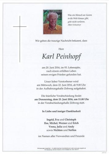 Karl Peinhopf