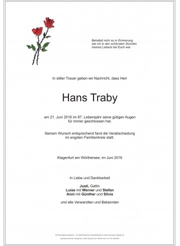 Hans Traby