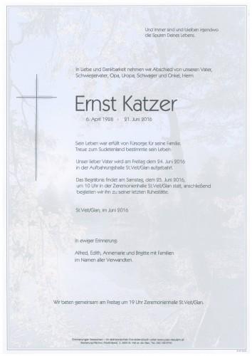 Ernst Katzer