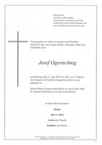 Josef Ogertschnig