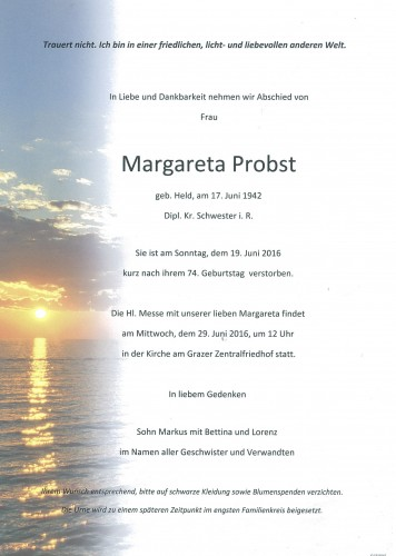 Margartea Probst