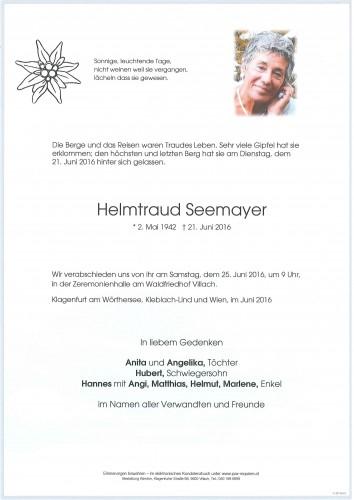 Helmtraud Seemayer