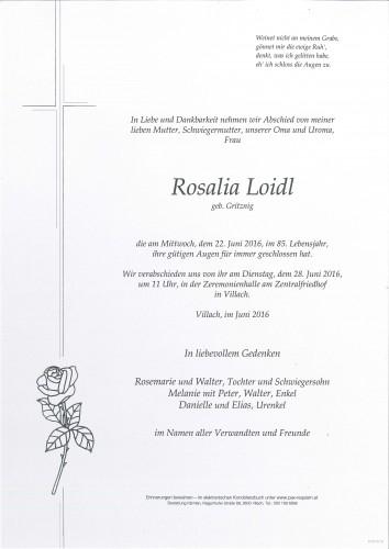 Rosalia Loidl