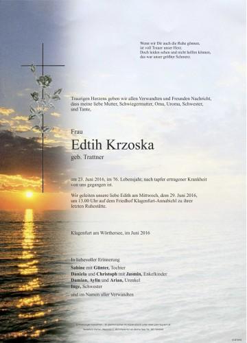 Edith Krzoska