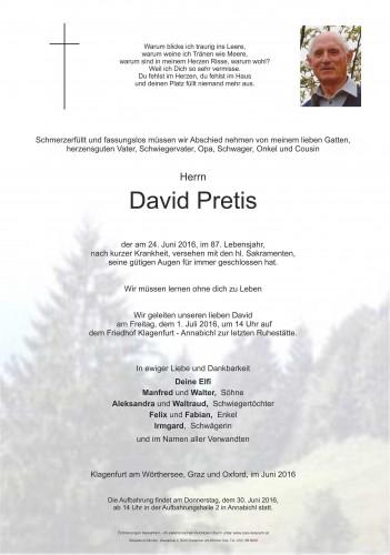 David Pretis
