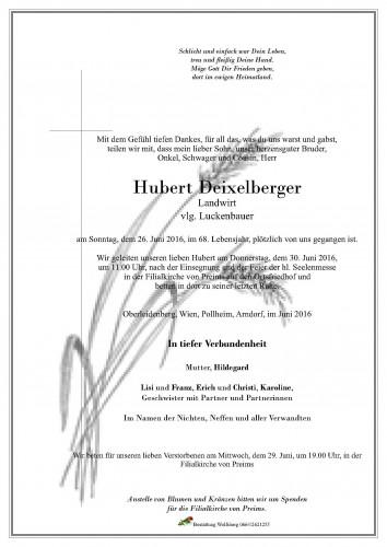 Hubert Deixelberger