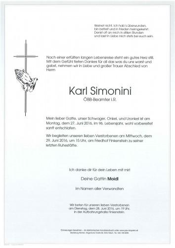 Karl Simonini