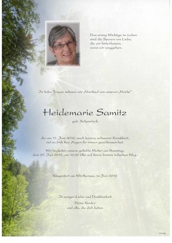 Heidemarie Samitz