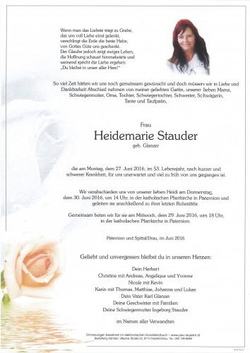 Heidemarie Stauder