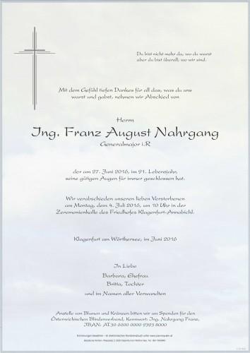 Ing. Franz Nahrgang