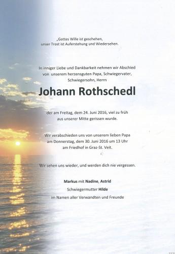 Johann Rothschedl