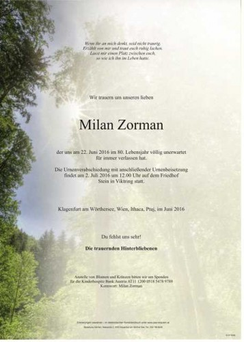 Milan Zorman