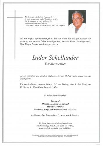 Isidor Schellander
