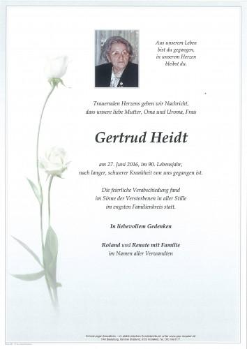 Gertrud Heidt