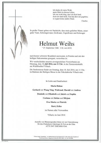 Helmut Weihs