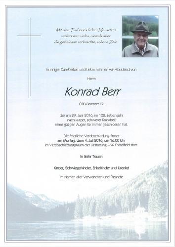 Konrad Berr