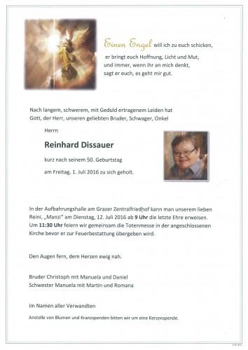 Reinhard Dissauer