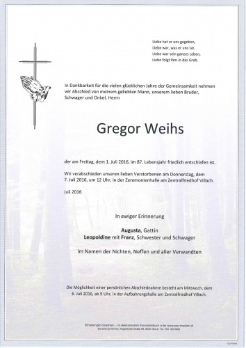 Gregor Weihs