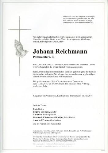 Johann Reichmann