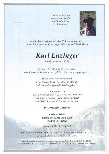 Karl Enzinger
