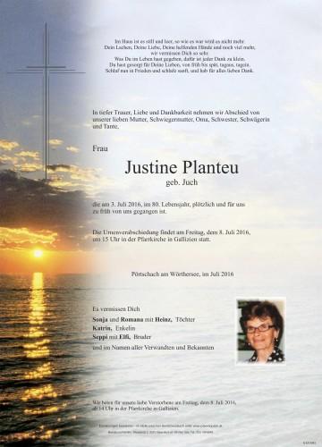 Justine Planteu