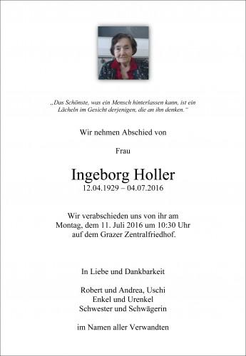 Ingeborg Holler