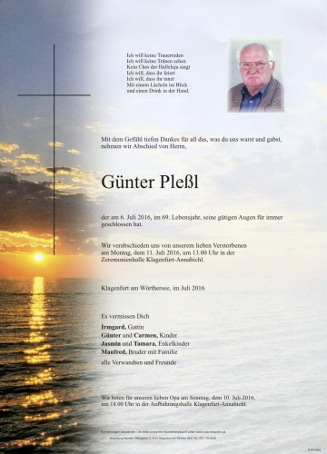 Günter Pleßl