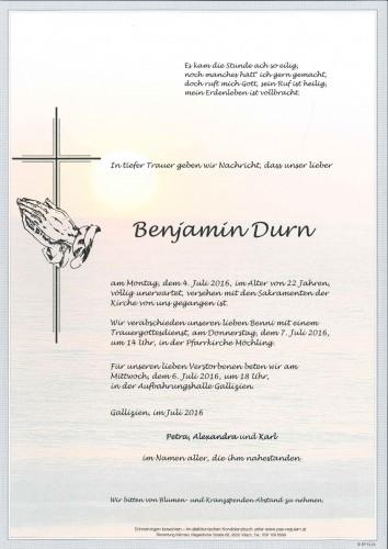 Benjamin Durn