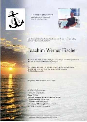 Joachim Werner Fischer