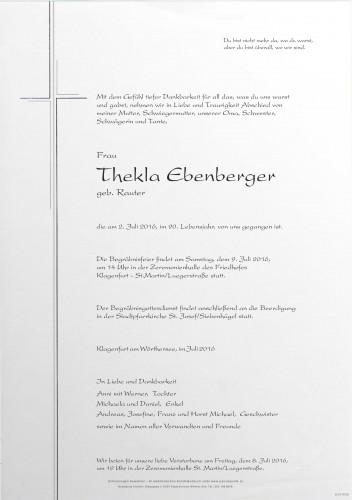 Thekla Ebenberger