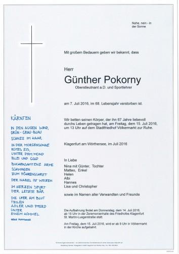 Günther Pokorny