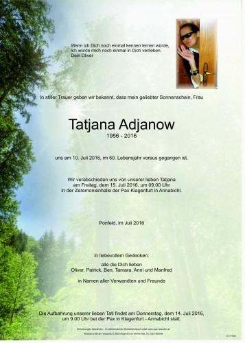 Tatjana Adjanow