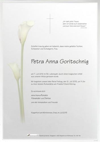 Petra Anna Goritschnig