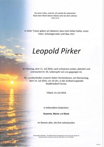 Leopold Pirker