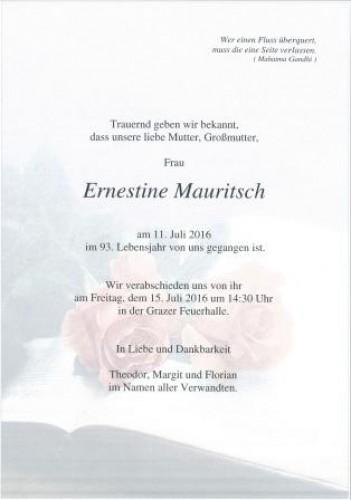 Ernestine Mauritsch