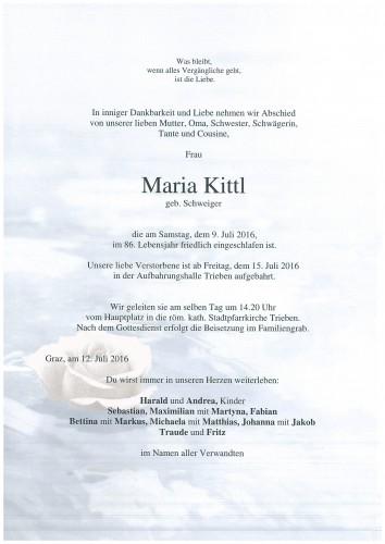 Maria Kittl