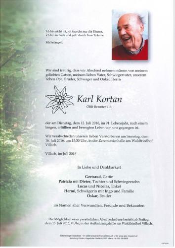 Karl Kortan