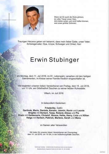 Erwin Stubinger