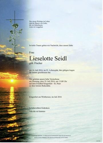 Lieselotte Seidl