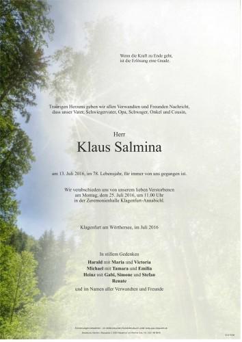 Klaus Salmina
