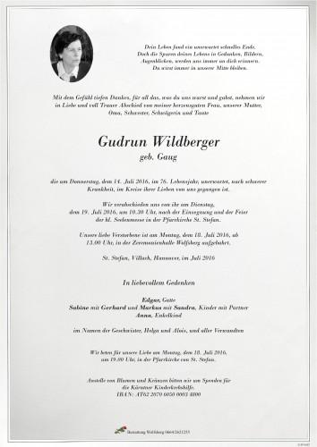 Gudrun Wildberger