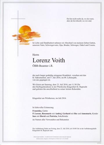 Lorenz Voith